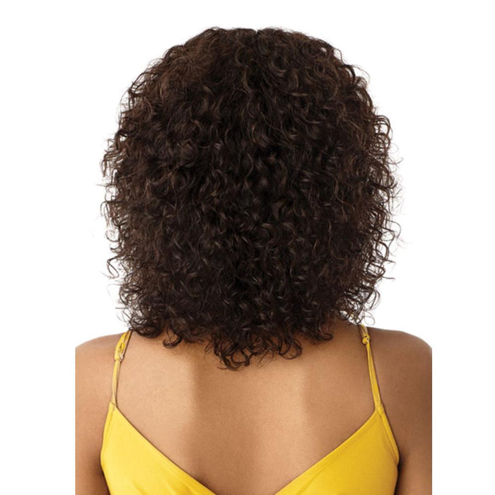 NATURAL BOHO JERRY | Mytress Gold Label Human Hair Lace Front Wig.
