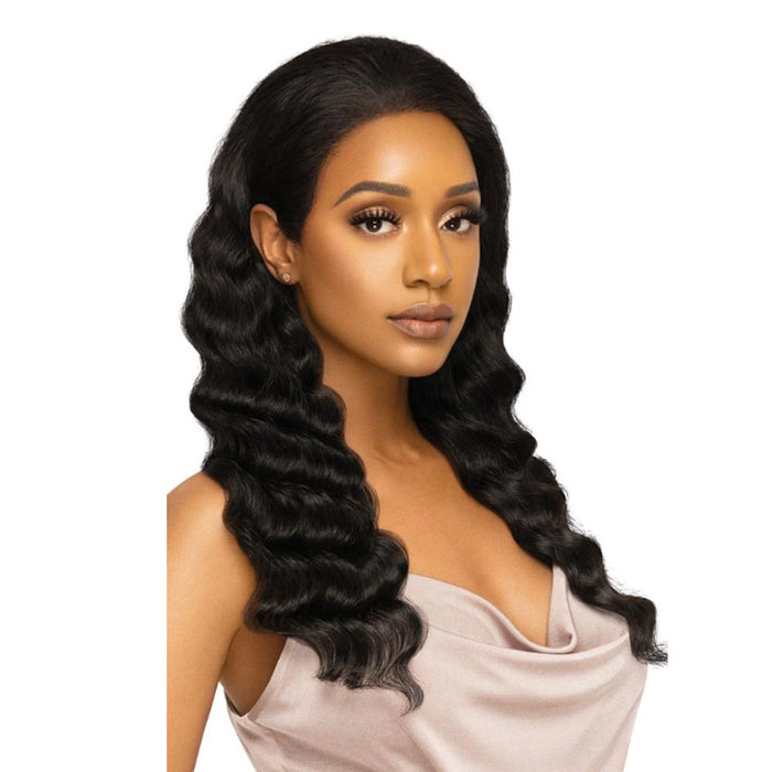 NATURAL FREE DEEP | MyTresses Platinum Label HD Human Hair 360 Lace Customized Wig.