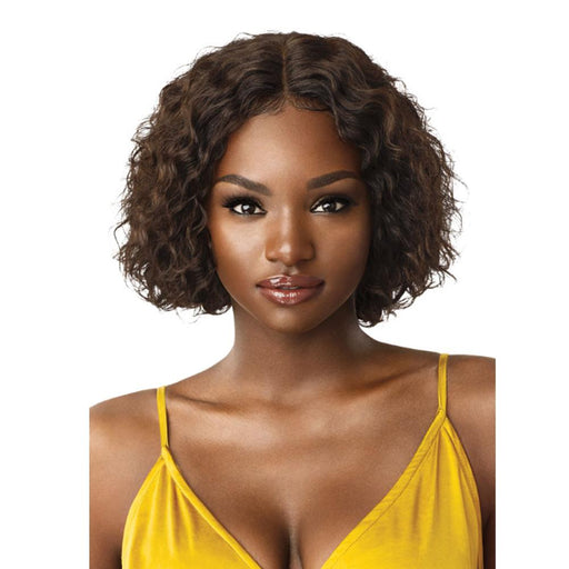 NATURAL JERRY BOB | Mytress Gold Label Human Hair Lace Front Wig - Hair to Beauty | Color Shown: NATURAL BROWN
