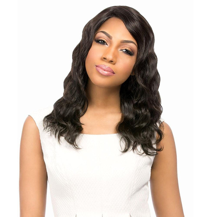 NATURAL LOOSE DEEP | Bare & Natural Unprocessed Brazilian Remi Lace Part Wig.