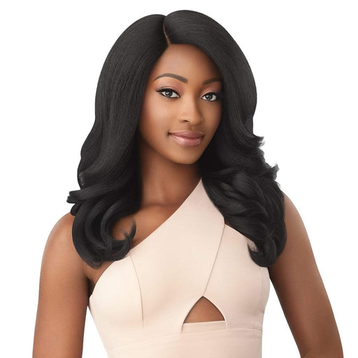 NEESHA 209 - Outre Soft & Natural Synthetic Lace Front Wig - Hair To Beauty | Color Shown : 1B