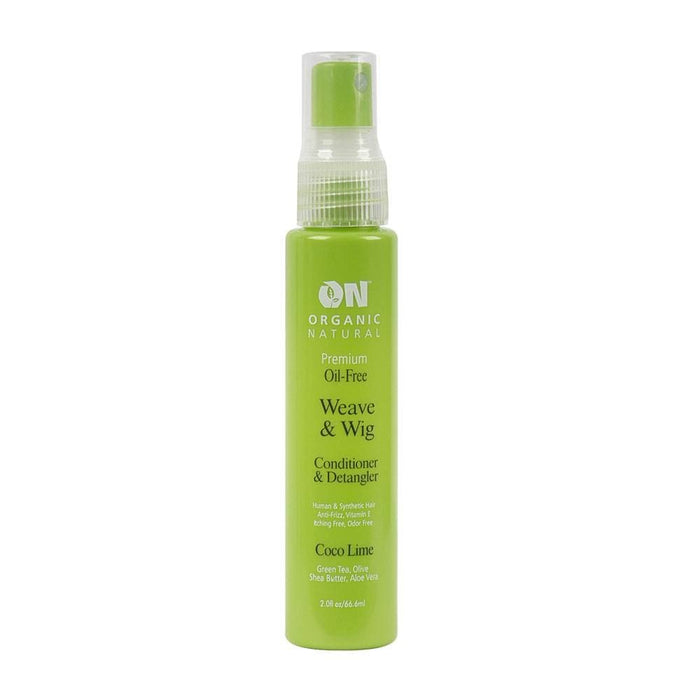 ON NATURAL | Remi Hair Weave & Wig Conditioner and Detangler Coco Lime 2oz.