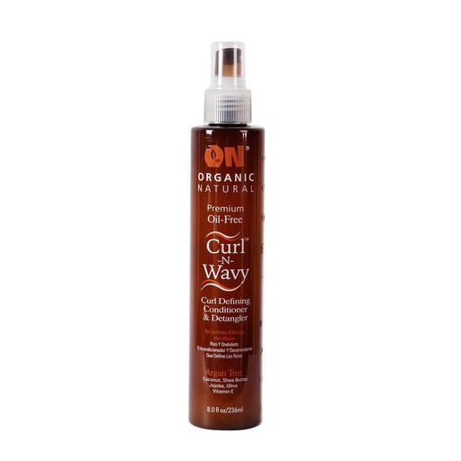 ON NATURAL | Argan Curl N Wavy Conditioner & Detangler 8oz - Hair to beauty