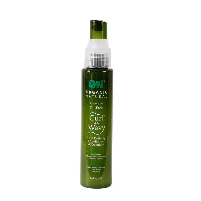 ON NATURAL | Curl N Wavy Avocado Curl Defining Conditioner and Detangler.