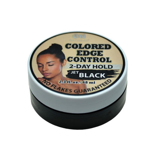 ON NATURAL | Colored Edge Gel Jet Black 2.3oz - Hair to beauty