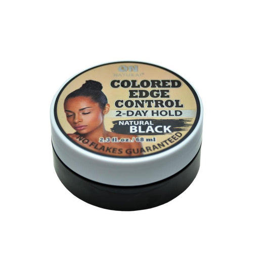 ON NATURAL | Colored Edge Gel Natural Black 2.3oz - Hair to beauty