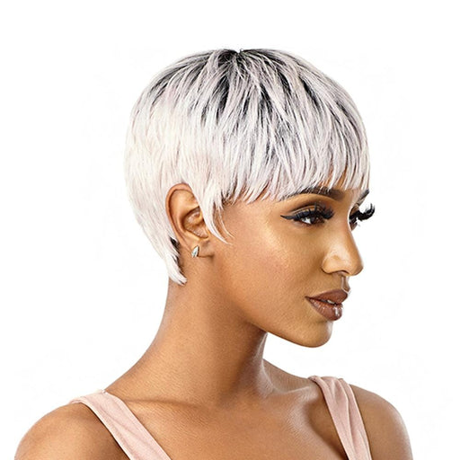 NOLA | Wigpop Synthetic Wig - Hair to Beauty | Color Shown: DR2/BABYPINK
