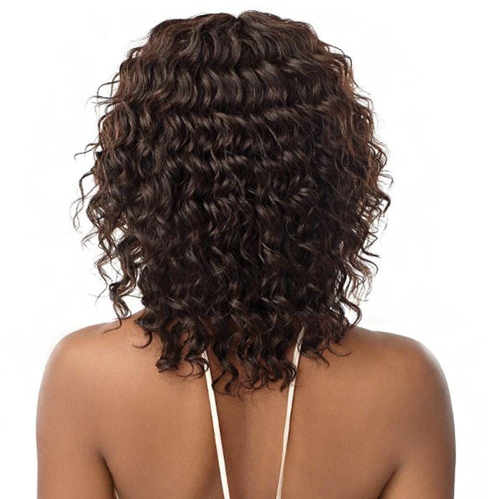 NATURAL CURLY DEEP | Outre Mytresses Gold Label Lace Front Wig - Hair to Beauty | Color Shown : NATURAL BROWN