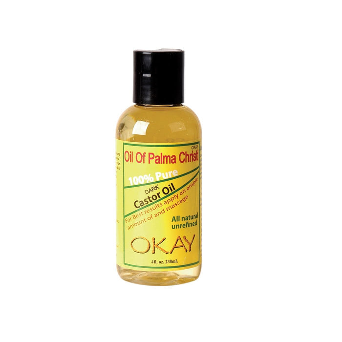 OKAY | Palma Christi Light Castor Oil 4oz.