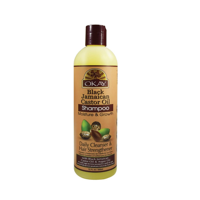 OKAY | Jamaican Black Castor Oil Shampoo 12oz.