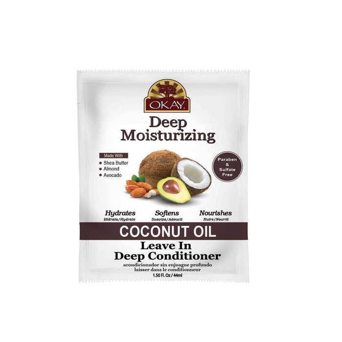 OKAY | Coconut Leave-In Packettes 1.5oz.