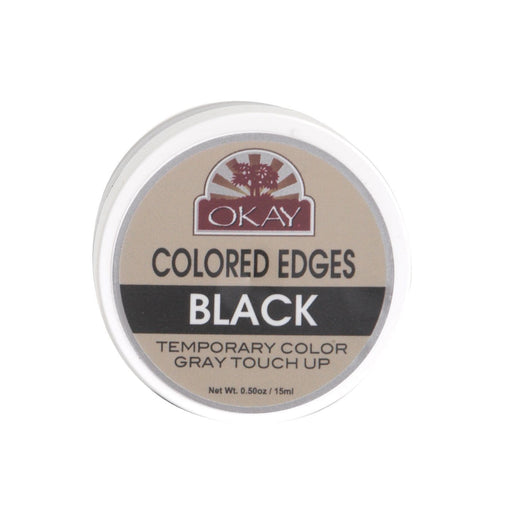 OKAY | Colored Edges Black 0.5oz - Hair to beauty