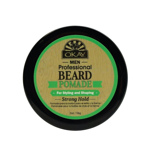 OKAY | Men'S Beard Pomade Extra 2oz - Hair to beauty