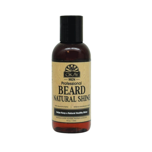 OKAY | Men'S Beard Natural Shine 4oz - Hair to beauty