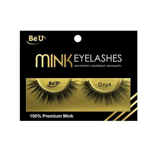 BE U | Mink Eyelashes ONYX - Hair to beauty