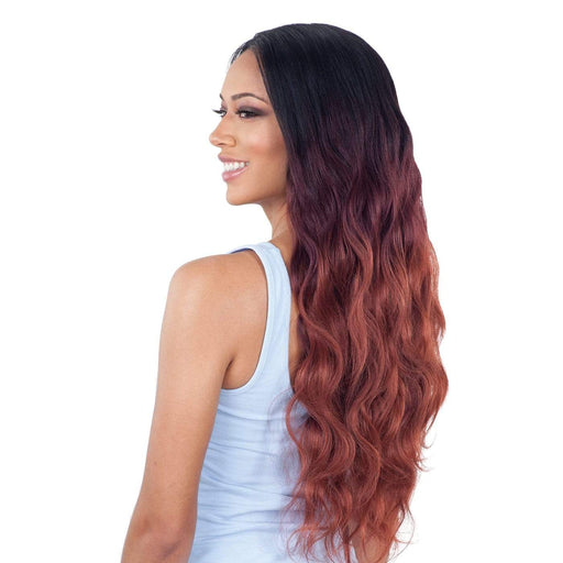 "BODY WAVE 4PCS | Organique Mastermix Synthetic Weave (18""/20""/22"") + Lace Closure - Hair to Beauty 