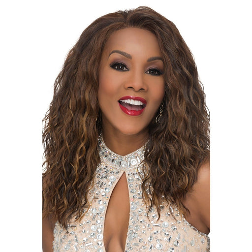 ORLANDO | Vivica A. Fox Synthetic Deep Lace Front Wig - Hair to Beauty | Color Shown: P4/27/30