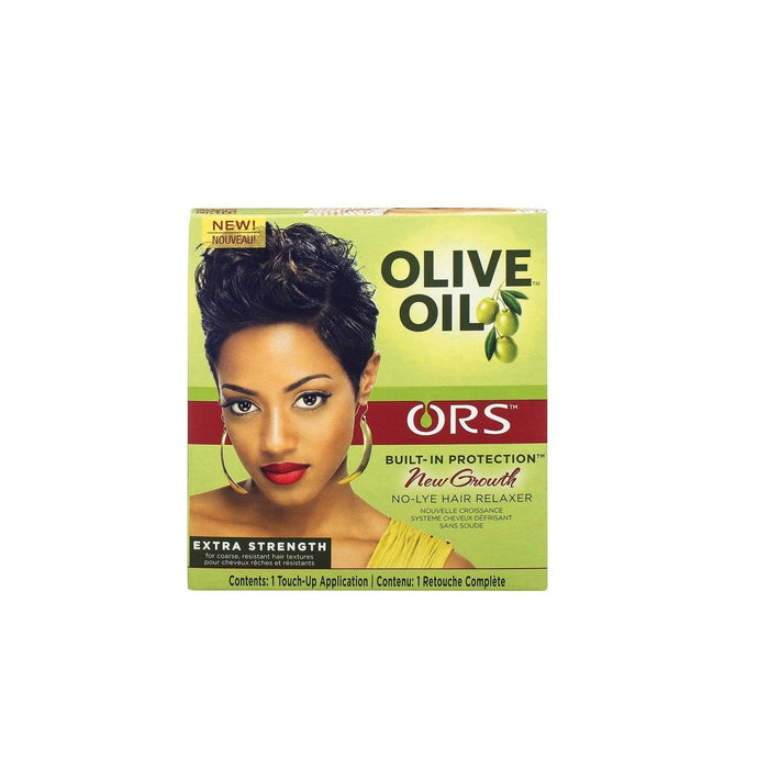 ORGANIC ROOT STIMULATOR | Olive Oil Relaxer New Growth Kit 1app.