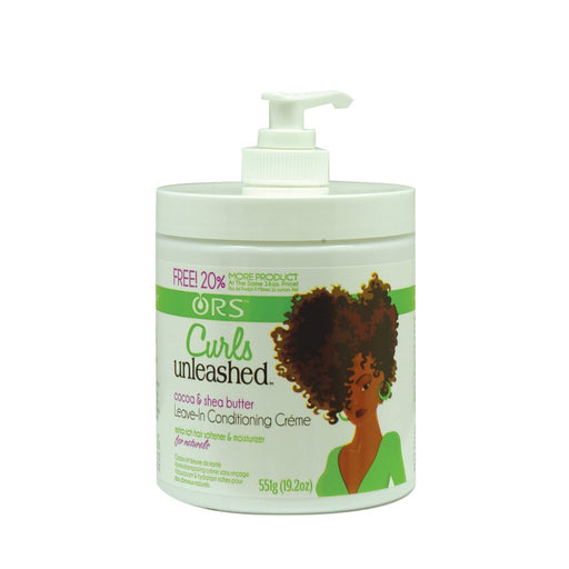 ORGANIC ROOT STIMULATOR | CURLS UNLEASHED LEAVE-IN CREME (16OZ) [COCOA & SHEA] - Hair to Beauty