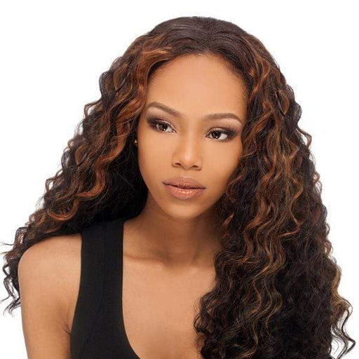 LOOSE DEEP | Outre Sol Human Hair Premium Mix Weave - Hair to Beauty | Color Shown: