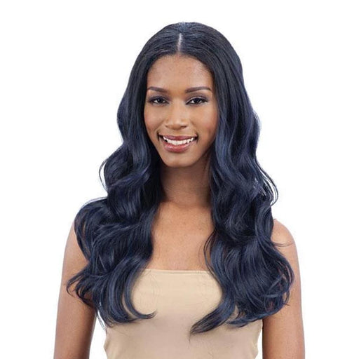 BODY WAVE | Oval Part Synthetic Wig - Hair to Beauty | Color Shown: OTBLBK