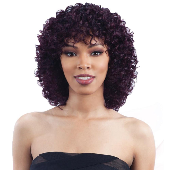 PASSION DEEP | Human Hair Wig - Hair to Beauty | Color Shown: OT99J