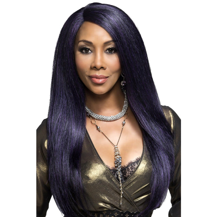 PAVIOLA | Vivica A. Fox Synthetic Deep Swiss Lace Front Wig - Hair to Beauty | Color Shown: M1DP