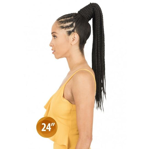 PBB24 | Synthetic Braid Ponytail - Hair to Beauty | Color Shown :