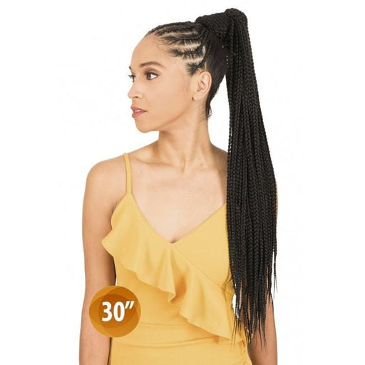 PBB30 | Chade Synthetic Braid Ponytail - Hair to Beauty | Color Shown :