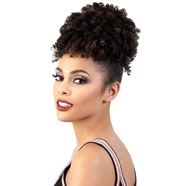 PD-PINE01 | Motown Tress PonyDo Pineapple Synthetic Ponytail - Hair to Beauty | Color Shown: F1B/30