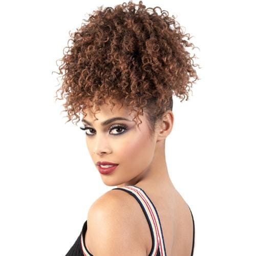 PD-PINE03 | Motown Tress PonyDo Pineapple Synthetic Ponytail - Hair to Beauty | Color Shown: T1B/30