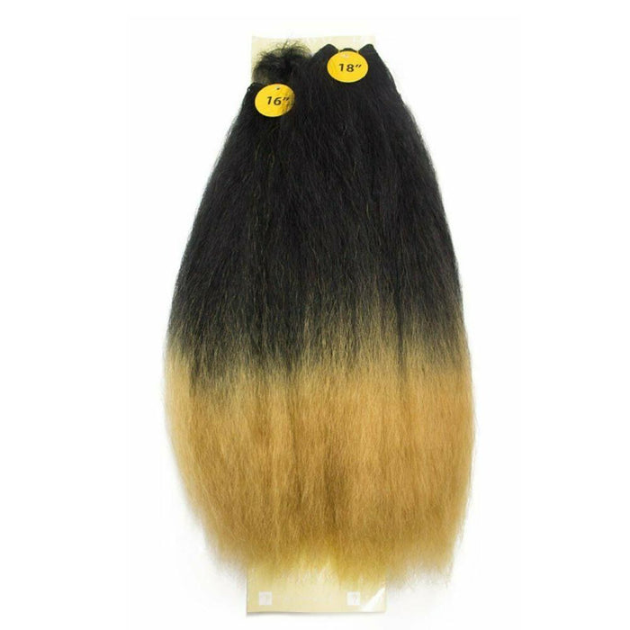 "PERM KINKY YAKI 4PCS 16"" 18"" 