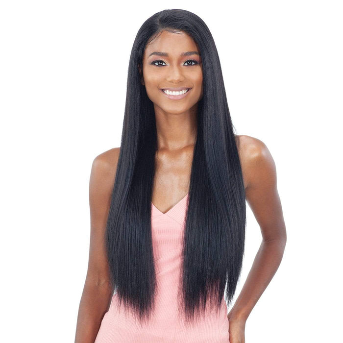 PL-03 | Synthetic Whole Lace Wig.