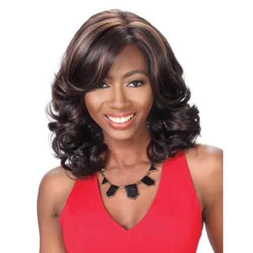 PM FP LACE FAITH | Prime Human Hair Blend 4x4 Swiss Lace Front Wig.