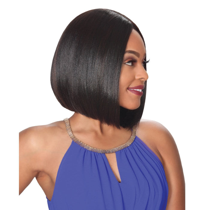 PM FP LACE ROMA | Prime Human Hair Blend 4x4 Swiss Lace Front Wig.