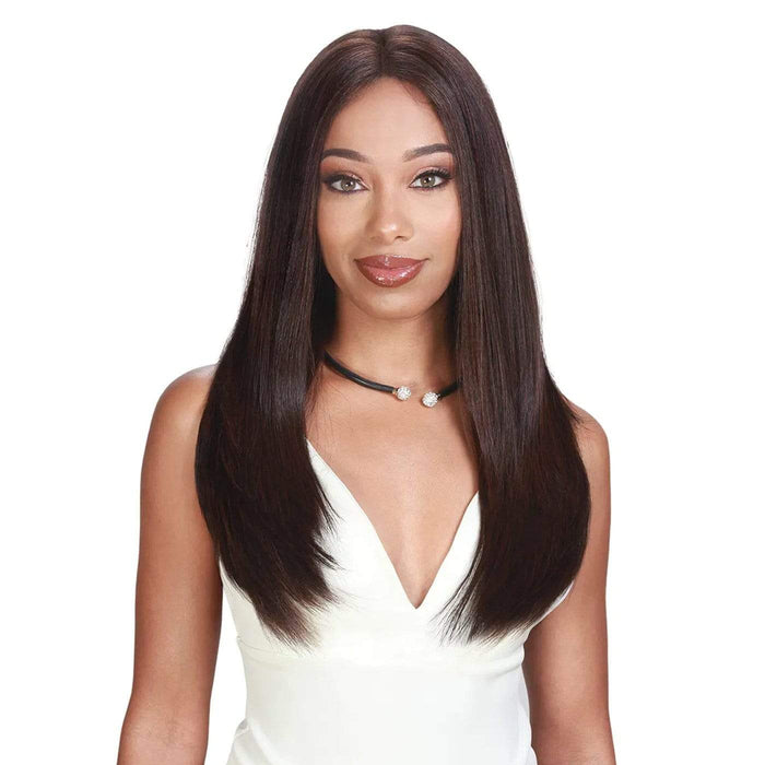 PM 360 FULL LACE SILK | Prime Human Hair Blend Full Lace Front Wig.