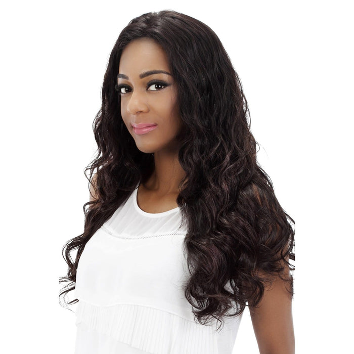 PRIMROSE | Vivica A. Fox Brazilian Remi Full Swiss Lace Front Wig - Hair to Beauty | Color Shown: NATURAL