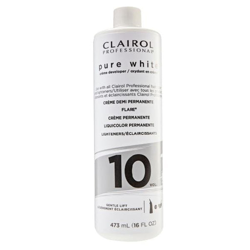 CLAIROL | Pure White Creme Developer Vol.10 16oz - Hair to Beauty