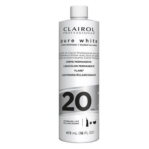 CLAIROL | Pure White Creme Developer Vol.20 - Hair to Beauty