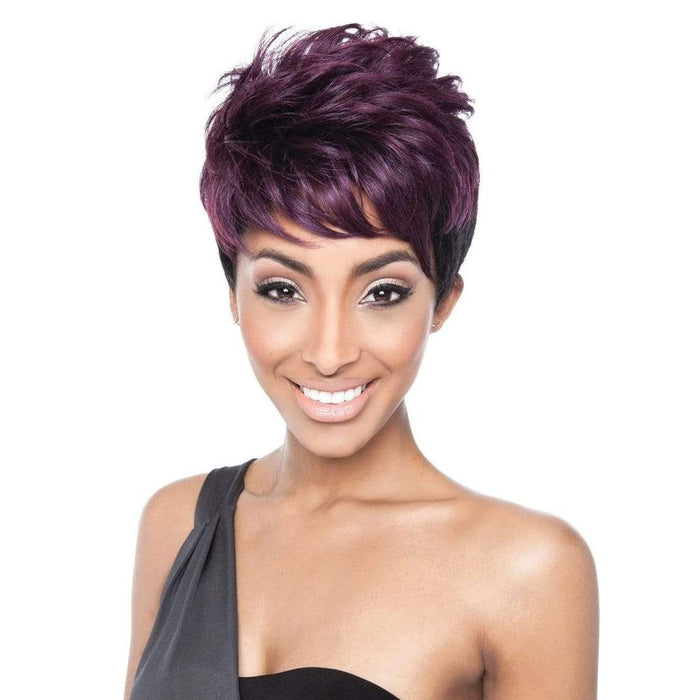 QB06 HALLE-PIXIE | Red Carpet Synthetic Wig.