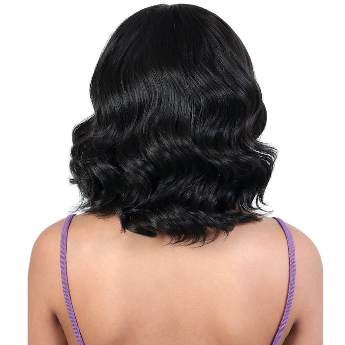 QE. HALI | Synthetic Half Wig | Color Shown: 1 - Hair to Beauty