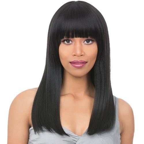 RAVEN | It's a Wig! Synthetic Wig - Hair to Beauty | Color Shown: 1B