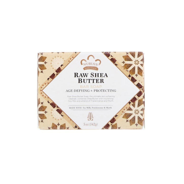 NUBIAN HERITAGE | Raw Shea Butter Soap 5oz.