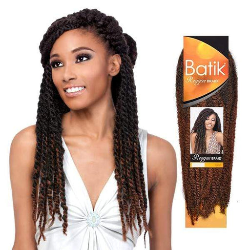 REGGAE BRAID | Outre Batik Synthetic Braid - Hair to Beauty | Color Shown:
