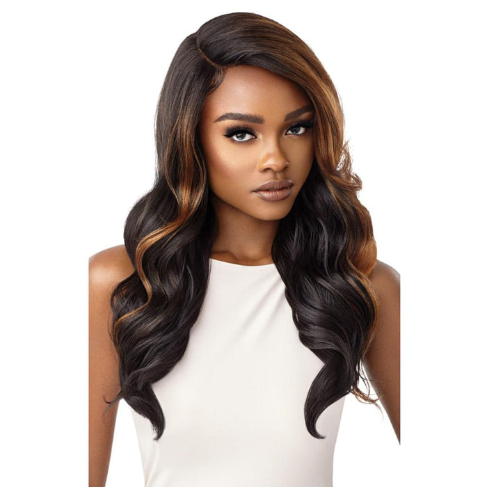 REINA | Color Bomb Synthetic Swiss Lace Front Wig.