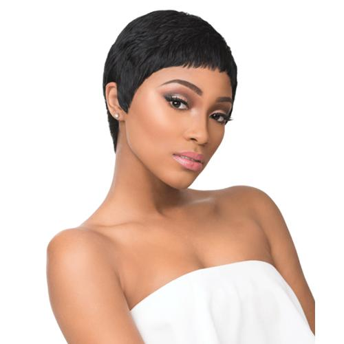 RIA | Sensationnel Empire Celebrity Series Human Hair Wig - Hair to Beauty | Color Shown: