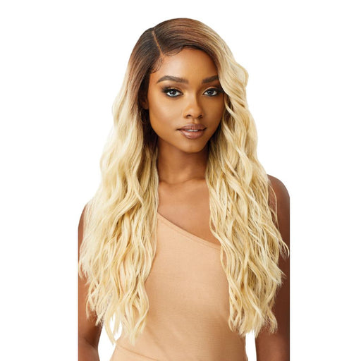 RIA | Melted Hairline Lace Front Wig - Hair to Beauty | Color Shown: 3DR MALIBU BLONDE