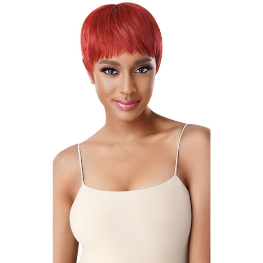 RIKA | Outre Wigpop Synthetic Full Cap Wig - Hair to Beauty | Color Shown : Red Copper