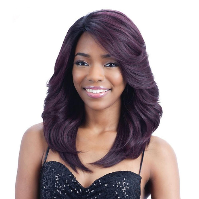 RILEY | Synthetic Invisible Part Wig - Hair to Beauty | Color Shown: OP99J