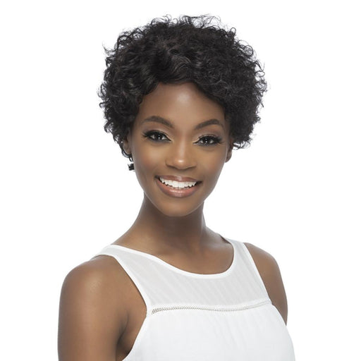 ROMILLY | Brazilian Remi Human Hair Wig - Hair to Beauty | Color Shown: NATURAL
